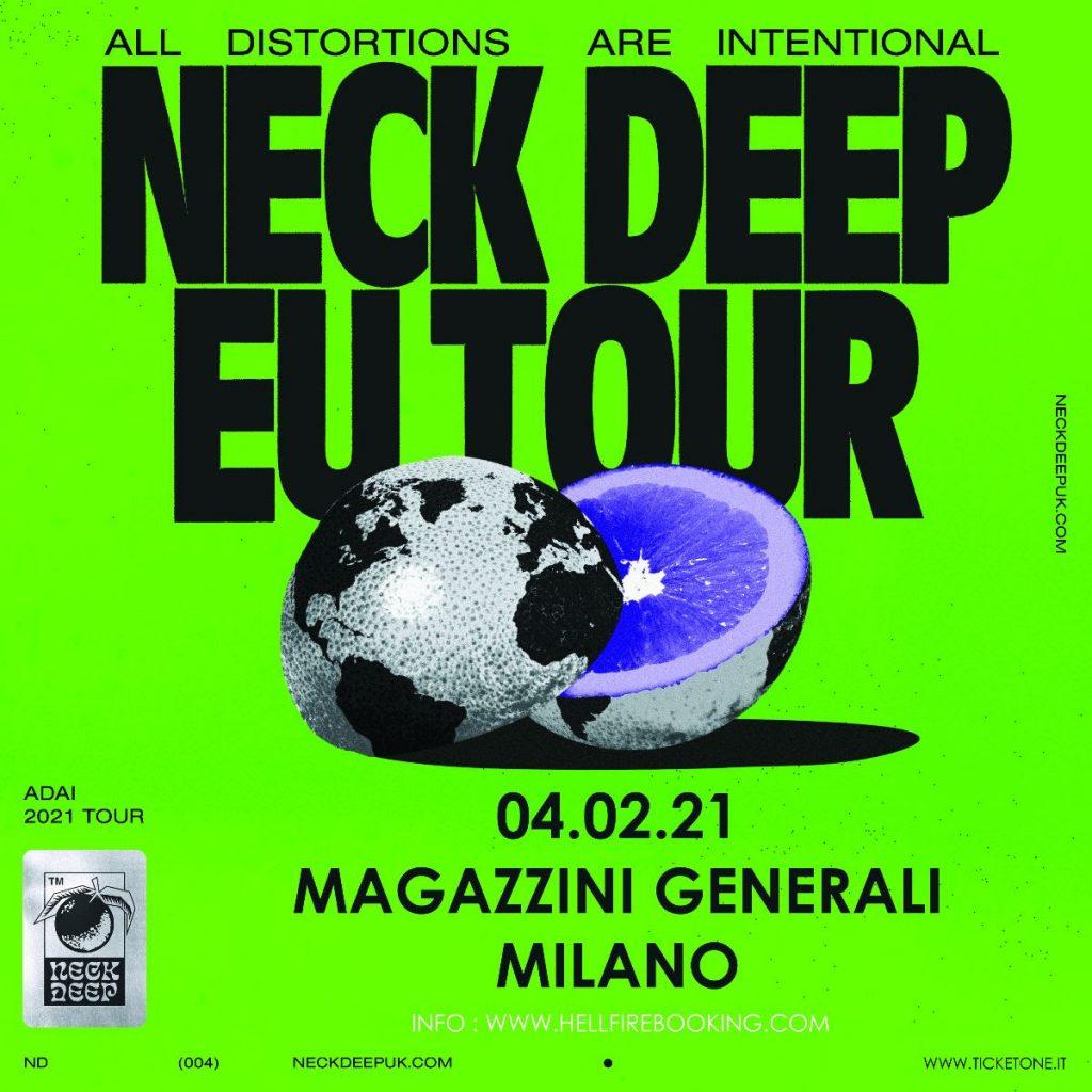 neck deep in italia