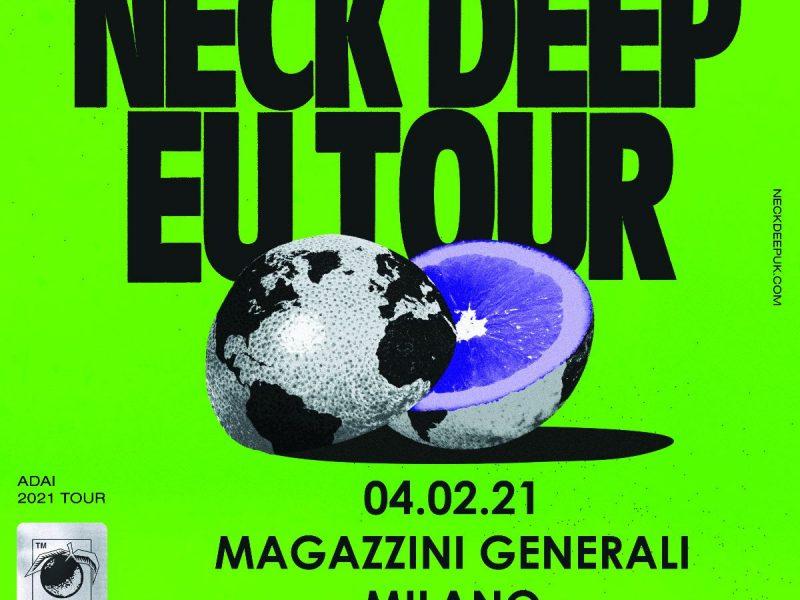 Neck Deep in Italia a febbraio: il tour fa tappa a Milano