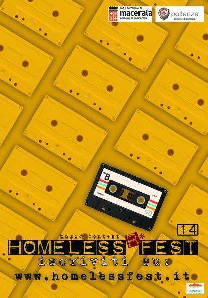 Homeless Fest 2020: iscrizioni aperte