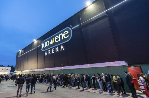 Kioene Arena, Padova – Recensione