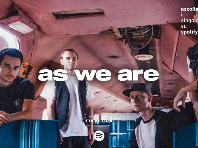 """As We Are, online il nuovo singolo """"Lozer"""": un po' di pop punk old style"""