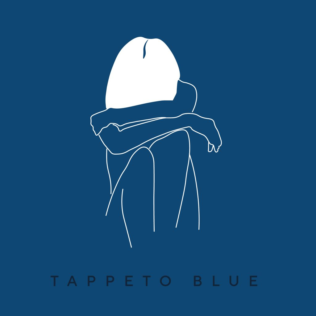 tappeto blue l'anima di gheta