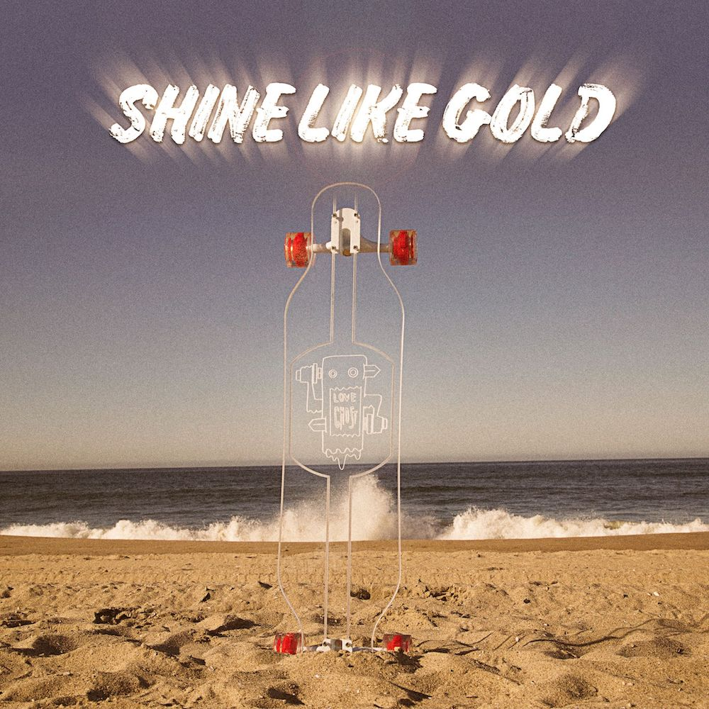 shine like gold love ghost cover