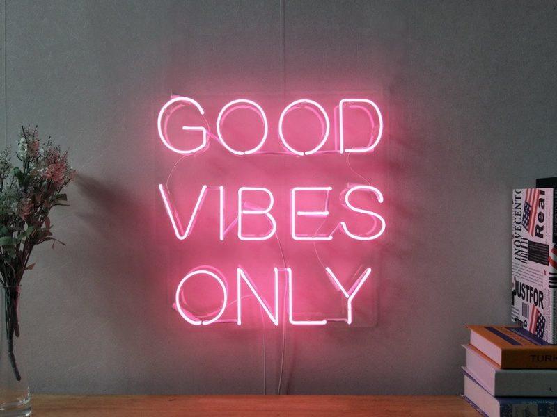 La parola d'ordine di quest'estate: good vibes!